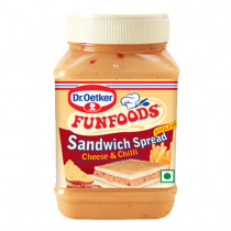 Dr.Oetker Funfoods Sandwich Spread Eggless Cheese & Chilli