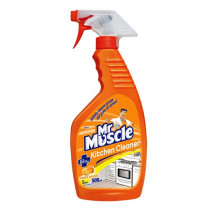 Mr Muscle Kitchen Cleaner Powers Through Touch Grease & Grime