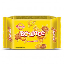 Sunfeast Bounce Pineapple Creme Biscuits