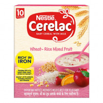 Nestle Cerelac Wheat Rice Mixed Fruit (10-12 Months)