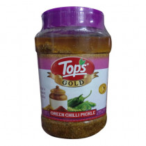 Tops Gold Green Chilli Pickle