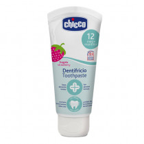 Chicco Dentifricio Toothpaste Strawberry 12months+