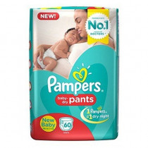 Pampers Pants New Baby (Up To 5 kg)
