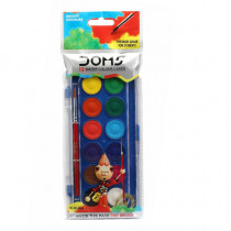 Doms 12 Water Colour Cakes 23mm