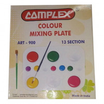 Complex Colour Mixing Plate Art-900 13 Section