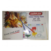 Complex Colour Mixing Plate Art-990 24 Section