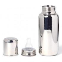 Msquare Stainless Steel Baby Feeding Bottle