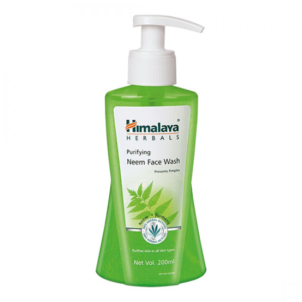 Himalaya Purifying Neem Face Wash Prevents Pimples