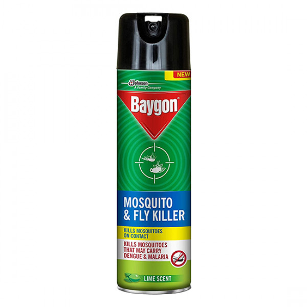 SC Johnson Baygon Mosquito & Fly Killer Lime Scent