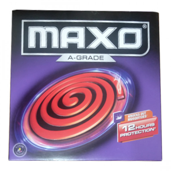 Maxo A-Grade Knocks Out Mosquitoes 12 Hours Protection