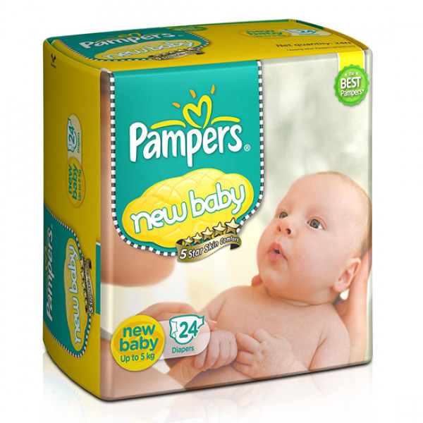 Pampers New Active Baby (Up To 5 kg)