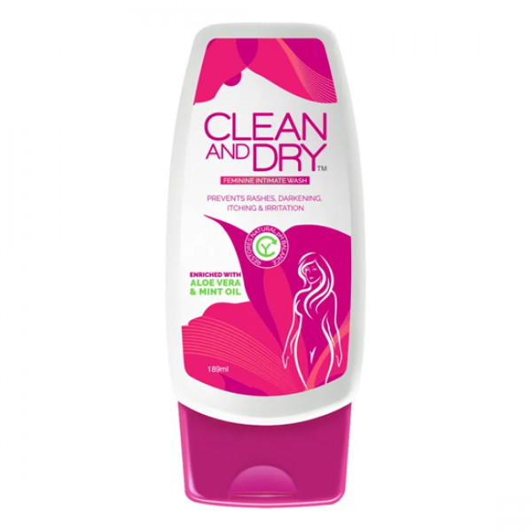 Clean And Dry Feminine Intimate Wash