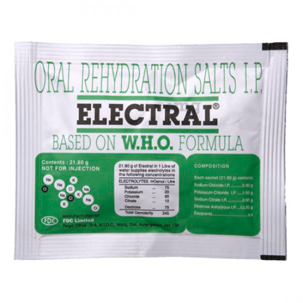 Oral Rehydration Salts IP Electral