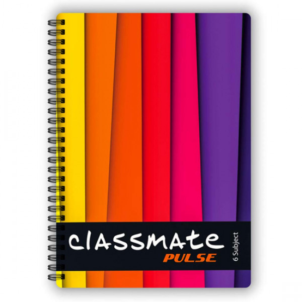 Classmate Pulse Notebook 6 Subjects 300 Pages