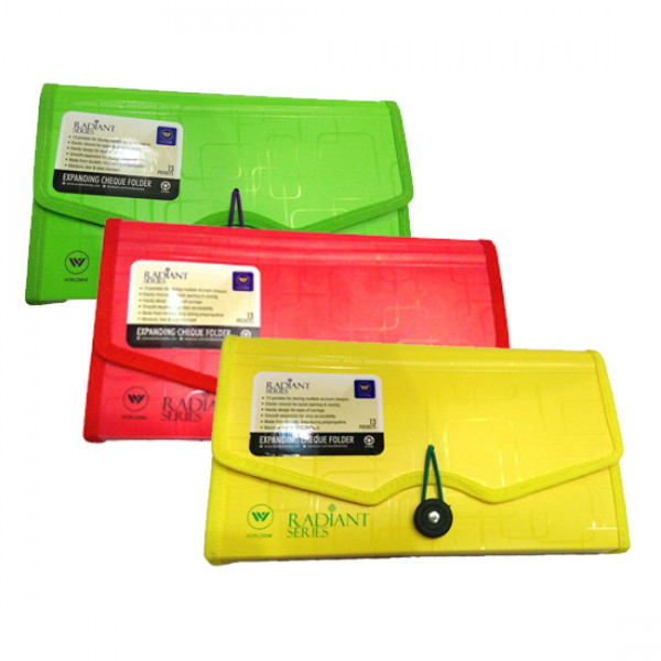 Radiant Series Expanding Cheque Folder 13 Pockets